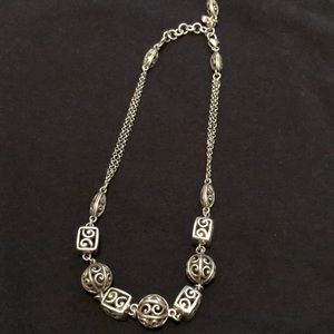 Great condition Brighton collar lace ball necklace
